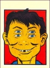 Image of Decal '4-Eyes' #1 with Alfred E. Neuman
