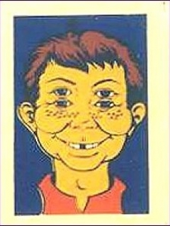 Go to Decal '4-Eyes' #2 with Alfred E. Neuman