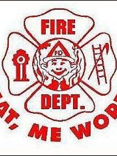 Go to Decal Fire Department 'What me worry?'