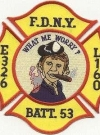 Image of Patch New York Fire Department Alfred E. Neuman