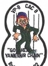 Image of Patch 'Go ahead - yank your chain' Alfred E. Neuman