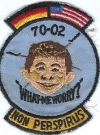 Image of Patch USAF Germany Training 1970 Alfred E. Neuman