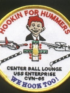 Go to Patch USS Enterprise 'Hookin for Hummers' • USA