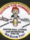 Image of Patch USS Enterprise 'Hookin for Hummers'