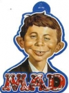 Image of Sticker 'Ridiculous Product' Alfred E. Neuman