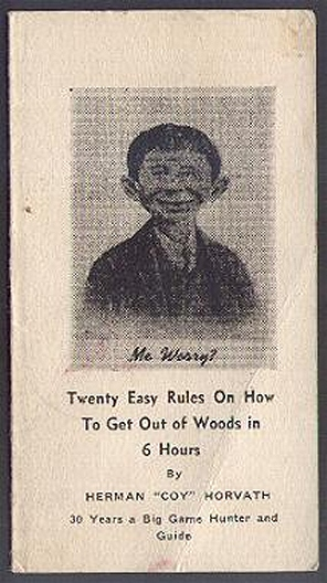 Booklet '20 Easy Rules to get out of the Woods in 6 hours' • USA