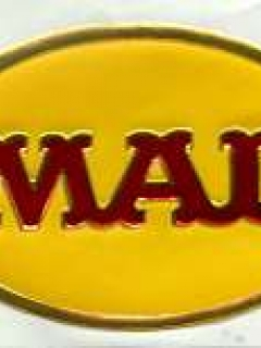 Go to Sticker MAD Magazine Red Logo on Yellow