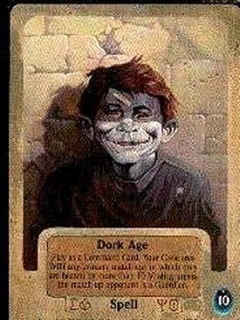 Go to Fantasy Art Cards Ken Kelly with Alfred E. Neuman
