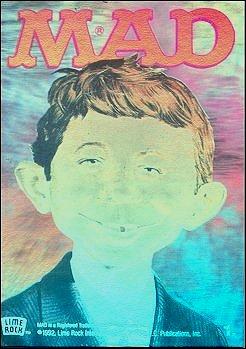Hologram Card Alfred E. Neuman • USA