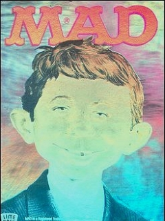 Go to Hologram Card Alfred E. Neuman • USA