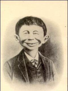 Business Card Old Alfred E. Neuman • USA