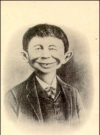 Image of Business Card Old Alfred E. Neuman