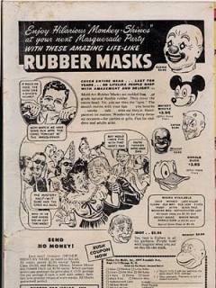 Ad for Pre-MAD Alfred E. Neuman Mask • USA