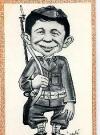 Image of Postcard Pre-MAD Alfred E. Neuman 'GI'