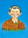 Image of Postcard Pre-MAD Alfred E. Neuman 'Checked Coat'