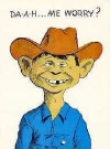 Image of Postcard Pre-MAD Alfred E. Neuman as a Cowboy