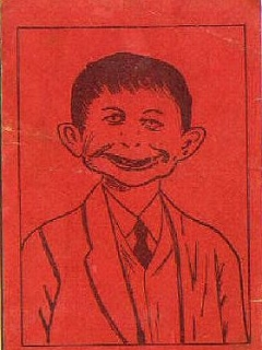 Go to Postcard Pre-MAD Alfred E. Neuman 'Anti-FDR' #4 • USA
