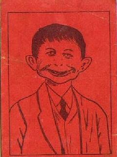 Go to Postcard Pre-MAD Alfred E. Neuman 'Anti-FDR' #4