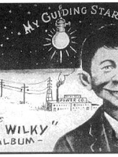Go to Postcard Pre-MAD Alfred E. Neuman 'Anti Wilky'