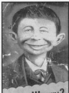 Image of Postcard Pre-MAD Alfred E. Neuman 'Me Worry?'