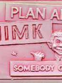 Go to Plastic Vacuform Postcards with Alfred E. Neuman (Red 'Thimk' Version)