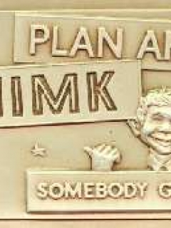 Go to Plastic Vacuform Postcards with Alfred E. Neuman (Brown 'Thimk' Version)