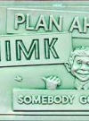 Plastic Vacuform Postcards with Alfred E. Neuman (Green