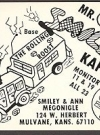 Image of Postcard Pre-MAD Alfred E. Neuman Mr & Mrs Smiley (Ham Operator)