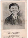 Image of Postcard Pre-MAD Alfred E. Neuman 'From One Mug to Another'