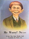 "Image of Postcard Pre-MAD Alfred E. Neuman ""Oscar's Lunch"""