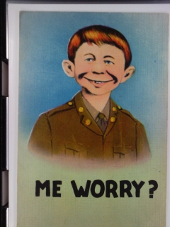 Go to Postcard Pre-MAD Alfred E.Neuman (D.E. Traub)