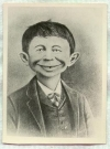 Image of Postcard Pre-MAD Alfred E. Neuman