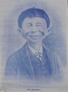 "Image of Postcard Pre-MAD Alfred E. Neuman ""Me Worry?"" (Blue cast)"