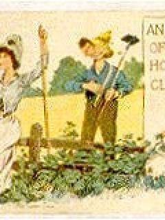 "Go to Postcard Pre-MAD Alfred E. Neuman ""How-Beau"" • USA"
