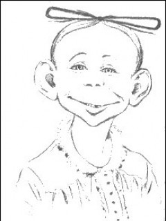 """Go to Postcard Pre-MAD Alfred E. Neuman """"Hello from New York"""" • USA"""