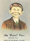 "Image of Postcard Alfred E. Neuman ""Pearl Beer"""