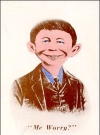 Image of Postcard Pre-MAD Colored Alfred E. Neuman (# 36)
