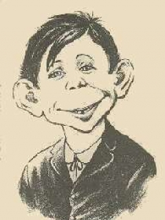 "Go to Postcard Pre-MAD Alfred E. Neuman ""So What"" • USA"