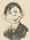 "Image of Postcard Pre-MAD Alfred E. Neuman ""So What"""