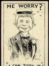 Image of Postcard Pre-MAD Alfred E. Neuman 'I can took it'