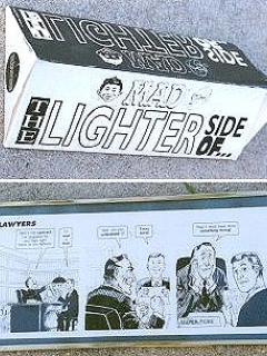 Plaques 'The Lighter Side of...' Dave Berg (Warner Store) • USA