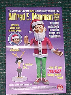 Go to Poster Alfred as Santa Action Figure • USA