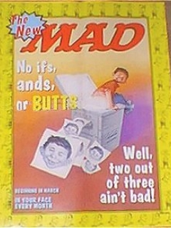 Go to Poster New MAD Magazine Promotional #1