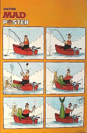 Poster Don Martin #1 (Mermaid) • USA