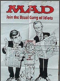Go to Poster MAD Magazine Subway Election • USA