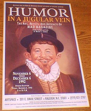 Poster Mark Cohen Art Show • USA