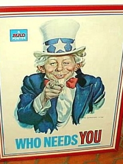 Go to Poster MAD Magazine 'Uncle Sam' • USA