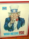 Image of Poster MAD Magazine 'Uncle Sam'