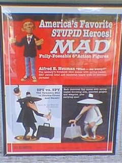 Go to Poster MAD Action Figures Promotional • USA