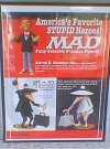 Image of Poster MAD Action Figures Promotional